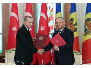 Moldova İle Türkiye Arasında Stratejik Ortaklık Açıklaması İmzalandı