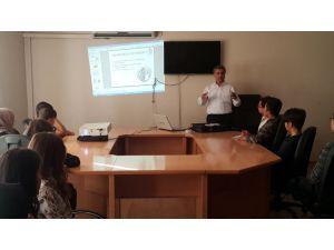 Adıyaman Belediyesinden Stajyer Öğrencilere İş Güvenliği Eğitimi