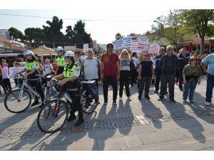 Foça'da Sağlıklı Yaşam İçin Hareket Yürüyüşü