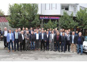 Karadenizlilerden Başkan Toçoğlu'na Hemşehrilik Beratı