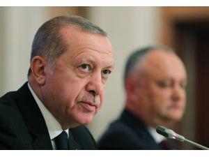 """Cumhurbaşkanı Erdoğan: """"İlişkilerimiz Stratejik Ortaklık Seviyesine Çıkarılmıştır"""""""