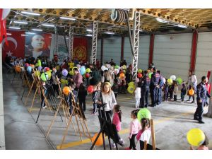 Büyükşehir Belediyesi İtfaiye Teşkilatı Tarafından Düzenlenen Resim Yarışması Sonuçlandı