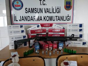 Samsun'da 3,2 Kilo Kubar Esrar Ele Geçirildi