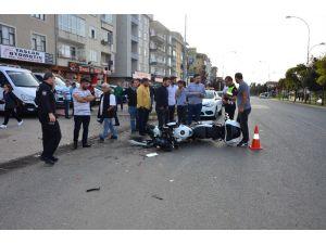 Ünye'de Kaza: 1 Yaralı