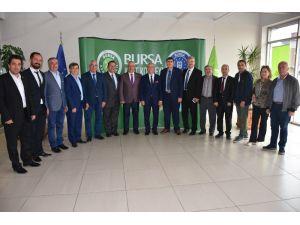 Rumeli Türkleri Kültür Ve Dayanışma Derneği'nden Kent Konseyi'ne Ziyaret