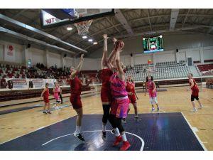 Türkiye Kadınlar Basketbol Ligi: Yalova Vıp: 96 Galatasaray Gelişim: 57