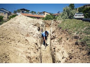 Arapgir'e 5 Bin 100 Metrelik Kanalizasyon Hattı