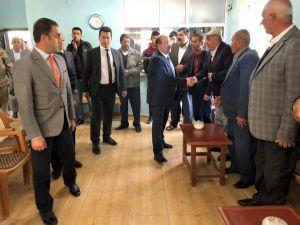 Vali Ustaoğlu Güroymak'ta Taziye Ziyaretinde Bulundu