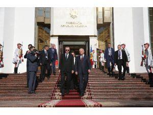 Cumhurbaşkanı Erdoğan, Moldova Cumhurbaşkanlığı Binası'nın Açılış Törenine Katıldı