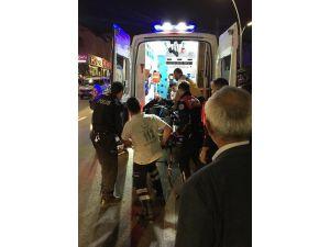 Polis Memuru Kontrol Ettiği Aracın Sürücüsü Tarafından Sürüklendi