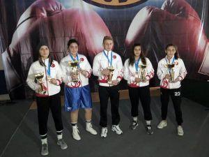 Ringde Büşra Işıldar, Avrupa Şampiyonu Oldu