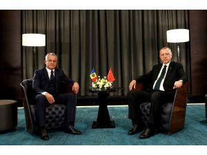 Cumhurbaşkanı Erdoğan, Moldova Demokrat Parti Genel Başkanı İle Görüştü