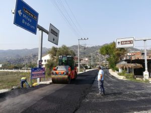 Karpuzlu'da İçme Suyu Boruları Değiştirildi