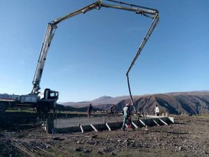 Kuzukaya Köyünde Yapılacak Olan Caminin Temeli Atıldı