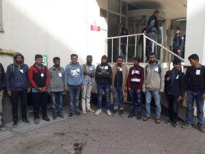 Kayseri'de 152 Kaçak Göçmen Yakalandı