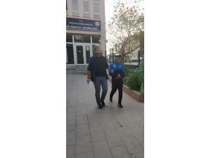 Hırsız Güvenlik Kamerasına Yakalandı