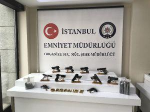 İstanbul'da Silah Kaçakçıları Adliyede