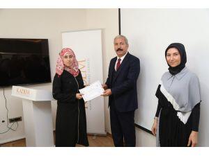 Türkçe Öğrenen Suriyeli Öğretmenler Sertifikalarını Aldı