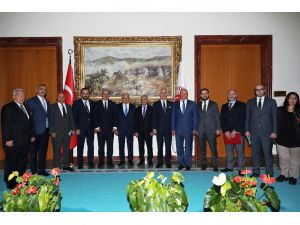 Ato'dan Tbmm Başkanı Yıldırım'a Ziyaret