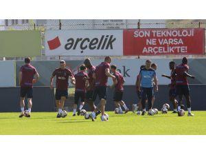 Trabzonspor, B.b. Erzurumspor Maçı Hazırlıklarını Sürdürdü