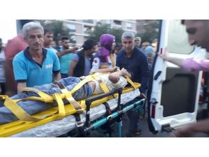 Minibüsün Çarptığı Çocuk Yaralandı