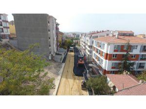 Göztepe'de Yol Yapım Ve Onarım Çalışmaları