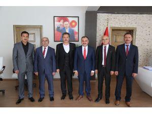 Eğitim Bir-sen'den Başkan Cabbar'a Ziyaret