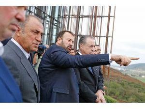 Galatasaray'ın Riva Arazisinin Projesi Tanıtıldı
