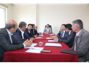 Başkan Bedirhanoğlu, Mahalle Muhtarlarıyla Bir Araya Geldi