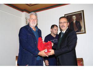 Bosna Hersek Hadziçi Belediye Başkanı, Seçen'i Ziyaret Etti