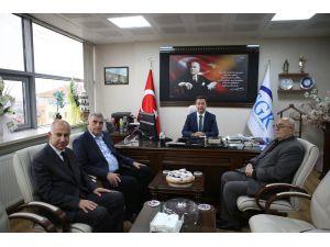 Başkan Toçoğlu'dan İşkur Ve Sgk İl Müdürlüğü'ne Ziyaret