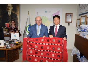 Kore Cumhuriyeti Başkonsolosu Tekirdağ'a Hayran Kaldı