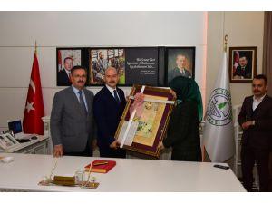 İçişleri Bakanı Soylu'dan Kızılcahamam Belediyesine Ziyaret