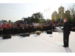 """Cumhurbaşkanı Erdoğan: """"Zor Zamanlarda Halklarının Geleceğine Yön Veren Liderlerin Çabaları Asla Unutulmayacaktır"""""""