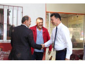 Ümmet Akın İlçe Ziyaretlerine Sultanhisar'da Devam Etti