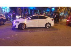 Kask Takmayan Motorsiklet Sürücüsü Yaralandı