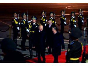 Rusya Devlet Başkanı Putin Özbekistan'da
