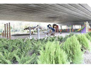 Mamak'ta Yeşil Alan Ve Çevre Düzenleme Çalışmaları Tamamlandı