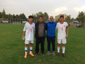 Nevşehir Belediyespor Milli Takıma 2 Futbolcu Gönderdi