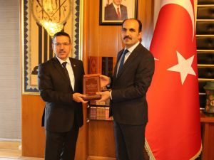 Sayıştay Başkanı Baş'tan Başkan Altay'a Ziyaret