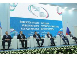 Özbekistan Ve Rusya 27,1 Milyar Dolarlık Anlaşmalara İmza Attı