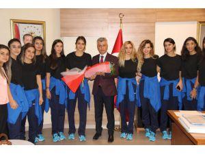 Sporculardan Başkan Arıcan'a Ziyaret