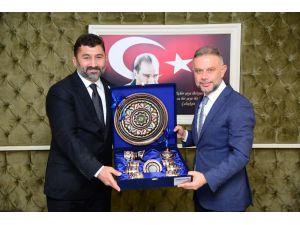 Rektör Karademir'den Başkan Ertürk'e Ziyaret