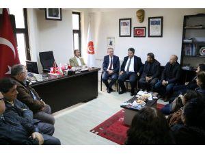 Başkan Işık'tan Emekli Astsubaylar Derneği'ne Ziyaret