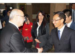 Aydın Valisi Köşger, Çinli İş Adamlarını Yatırıma Davet Etti