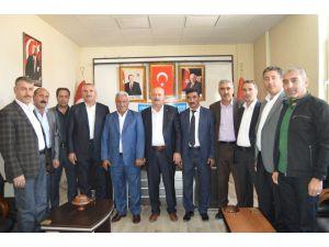 Muhtarlardan Başkan Arslan'a Ziyaret