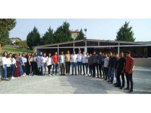 Üniak Kargı'da Üniversite Öğrencileriyle Buluştu