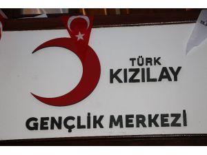 """Türk Kızılay'ın İlk Gençlik Merkezi Olan """"Ankara Gençlik Merkezi"""" Açıldı"""