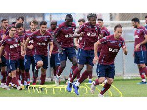 Trabzonspor, Bb Erzurumspor Hazırlıklarını Sürdürdü