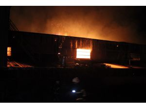 Hatay'da Dev Fabrika Alevlere Teslim Oldu